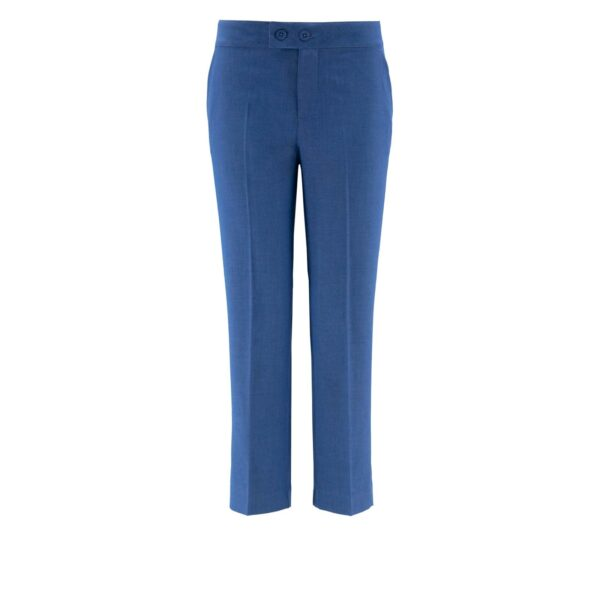 Pantalone Classic melange BLU - vista frontale | Nicla