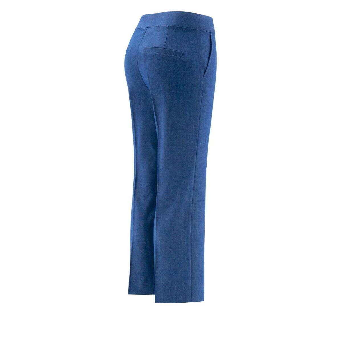 Pantalone Classic melange BLU - vista laterale | Nicla
