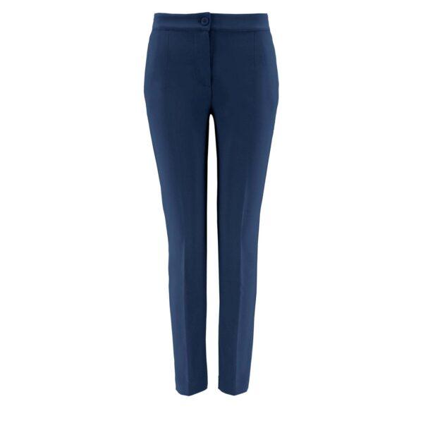 Pantalone Straight BLU - vista frontale   Nicla
