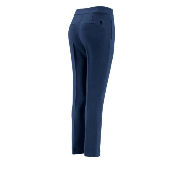 Pantalone Straight BLU - vista laterale   Nicla