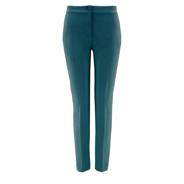 Pantalone Straight VERDE - vista frontale   Nicla