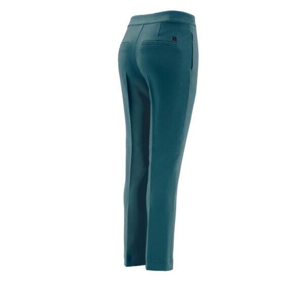 Pantalone Straight VERDE - vista laterale   Nicla