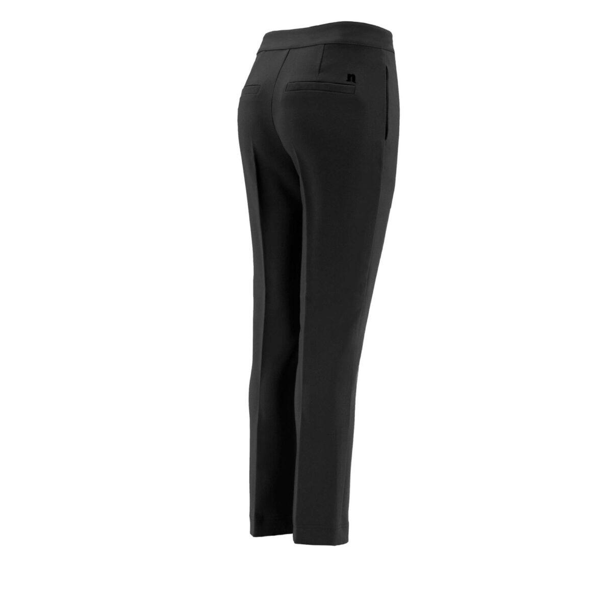 Pantalone Straight NERO - vista laterale | Nicla