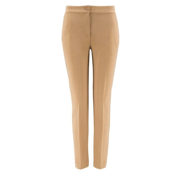 Pantalone Straight NATURALE - vista frontale | Nicla