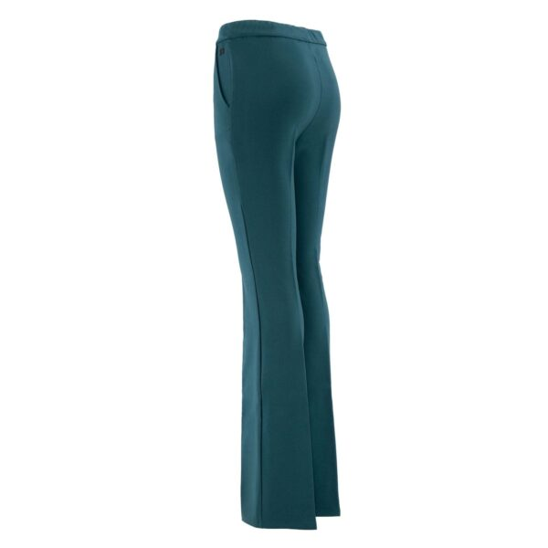 Pantalone Bootcut VERDE - vista laterale   Nicla