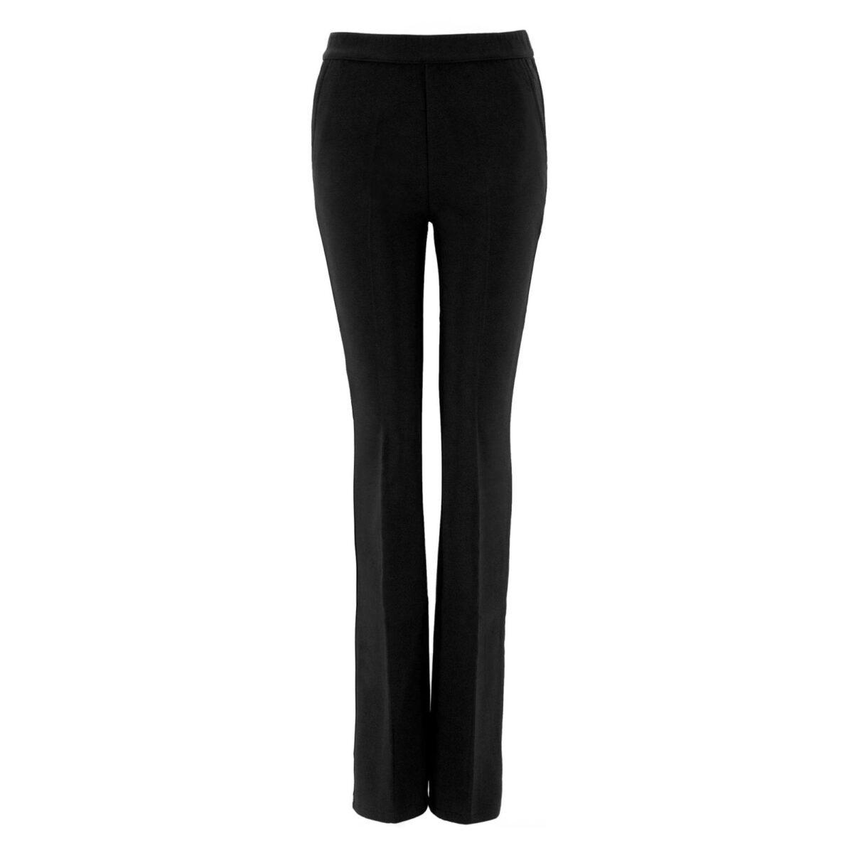 Pantalone Bootcut NERO - vista frontale | Nicla