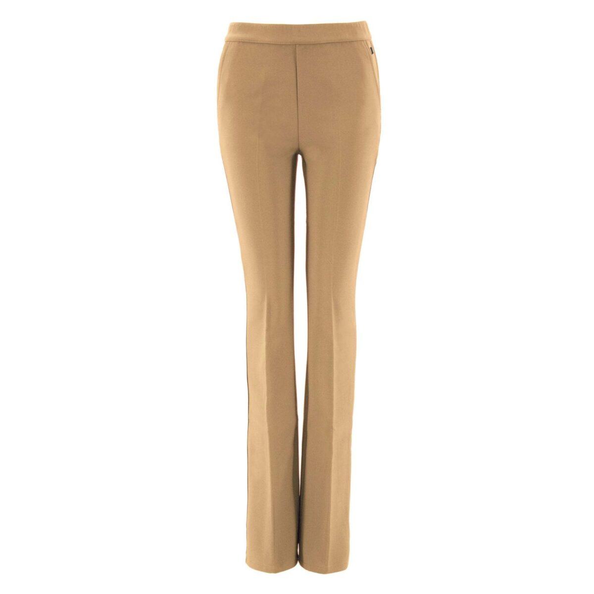 Pantalone Bootcut NATURALE - vista frontale | Nicla