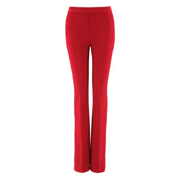 Pantalone Bootcut ROSSO - vista frontale   Nicla