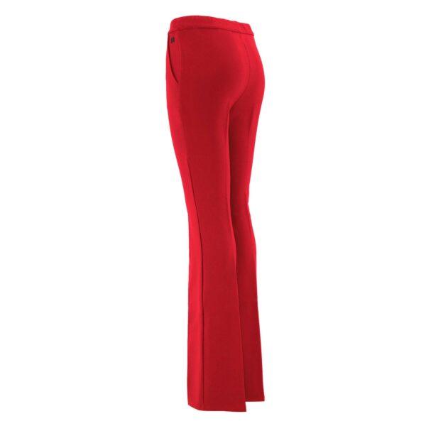 Pantalone Bootcut ROSSO - vista laterale   Nicla