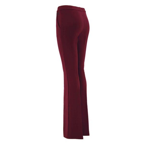 Pantalone Bootcut BORDEAUX - vista laterale   Nicla