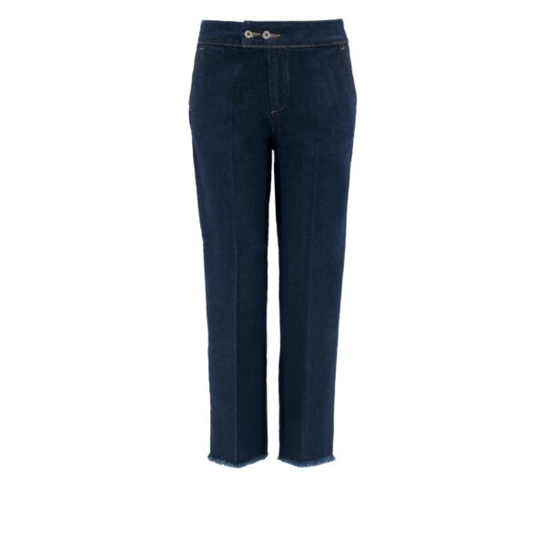Pantalone Classic in denim DENIM - vista frontale | Nicla