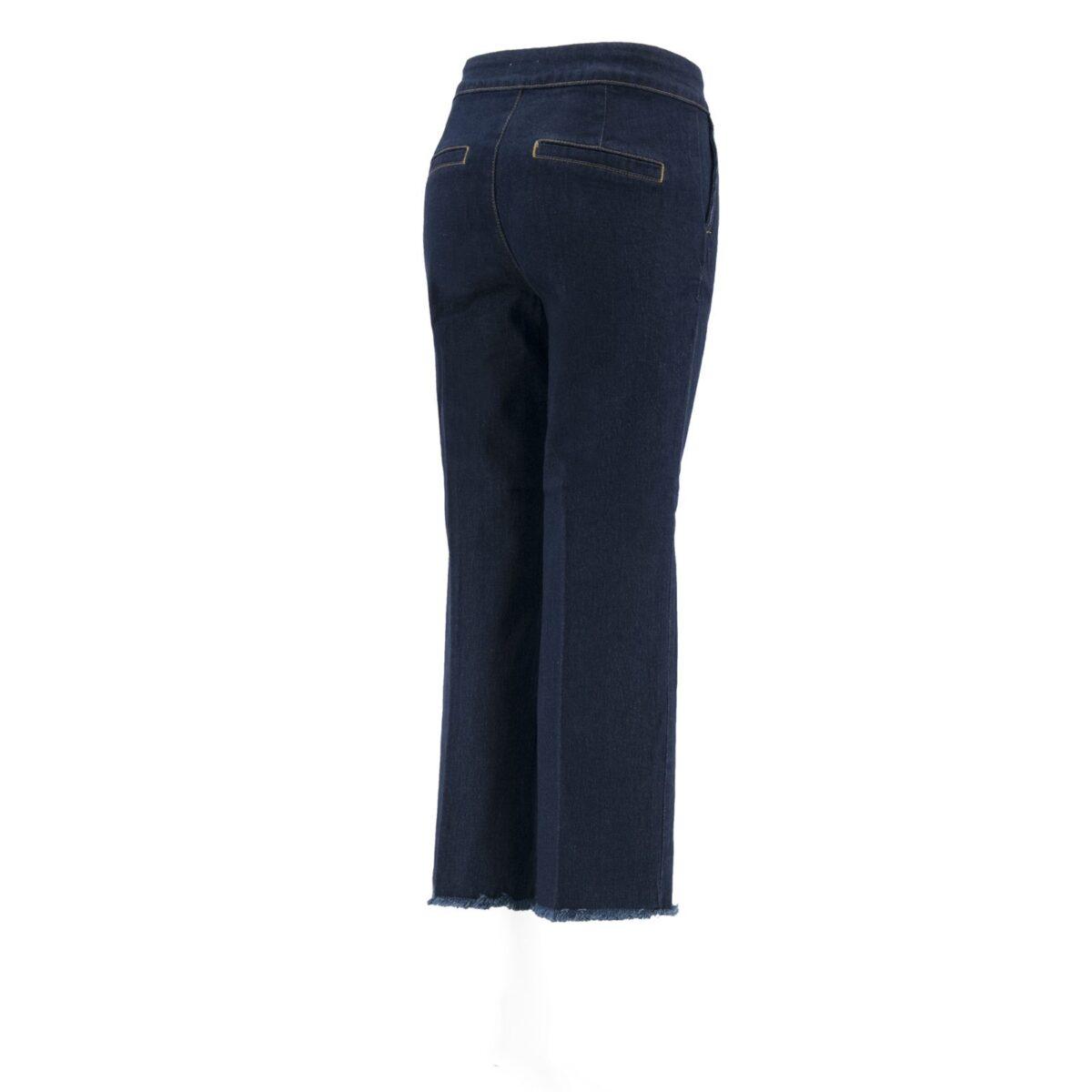 Pantalone Classic in denim DENIM - vista laterale | Nicla