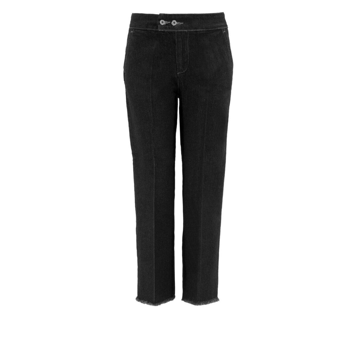 Pantalone Classic in denim DENIM - vista frontale   Nicla