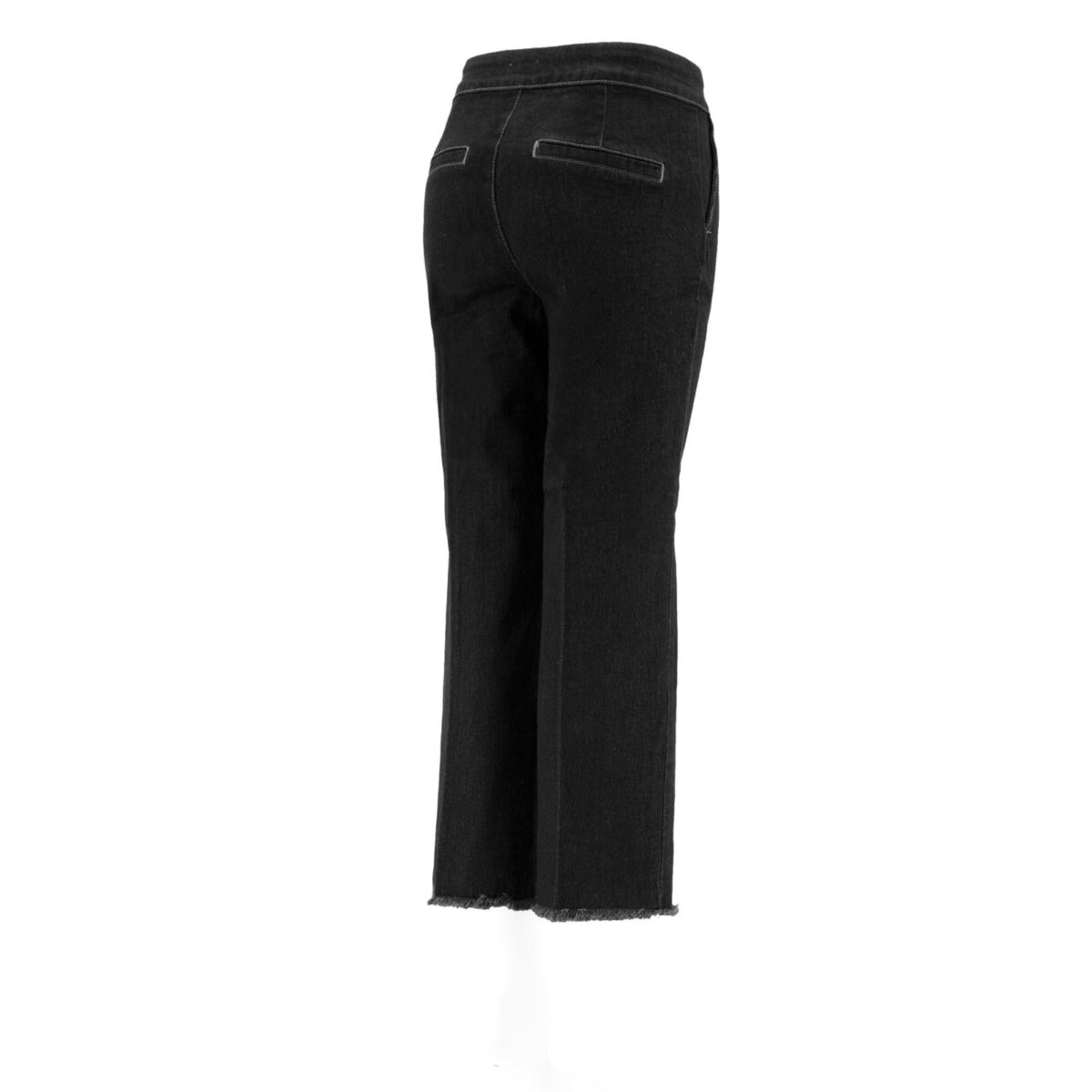Pantalone Classic in denim DENIM - vista laterale   Nicla