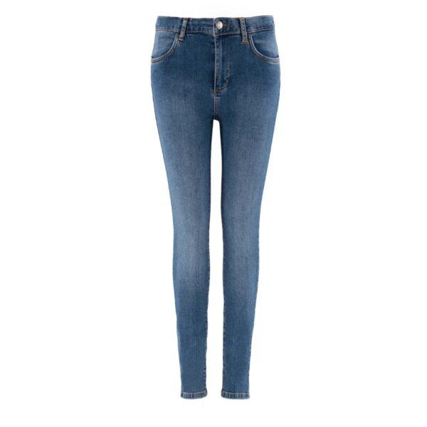 Pantaloni Skinny in denim DENIM - vista frontale | Nicla