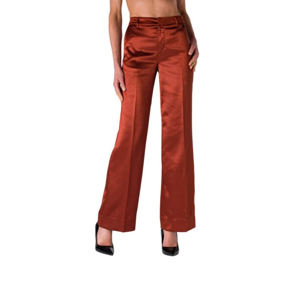 Pantalone Wide Leg in satin acetato