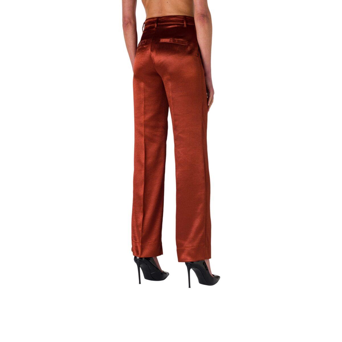 Pantalone Wide Leg in satin acetato