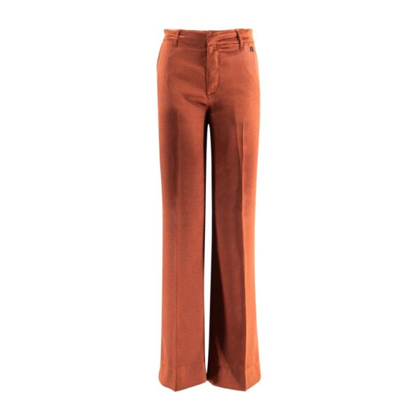 Pantalone Wide leg Marrone - vista frontale | Nicla