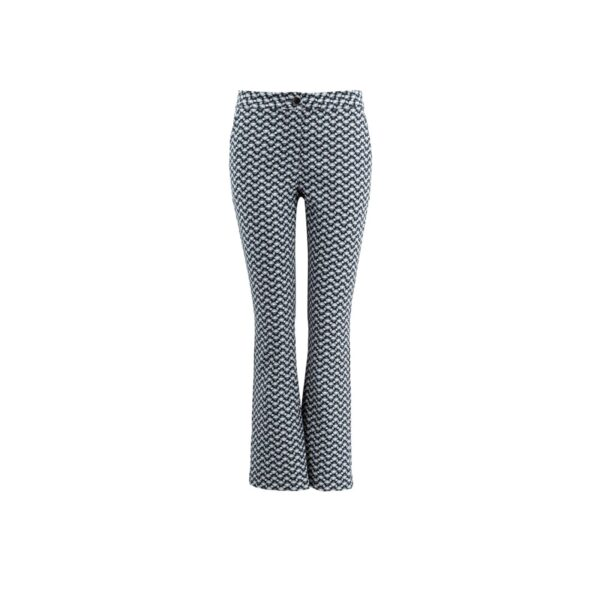 Pantalone Flare Blu - vista frontale | Nicla