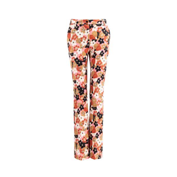 Pantalone Bootcut Multicolor - vista frontale | Nicla