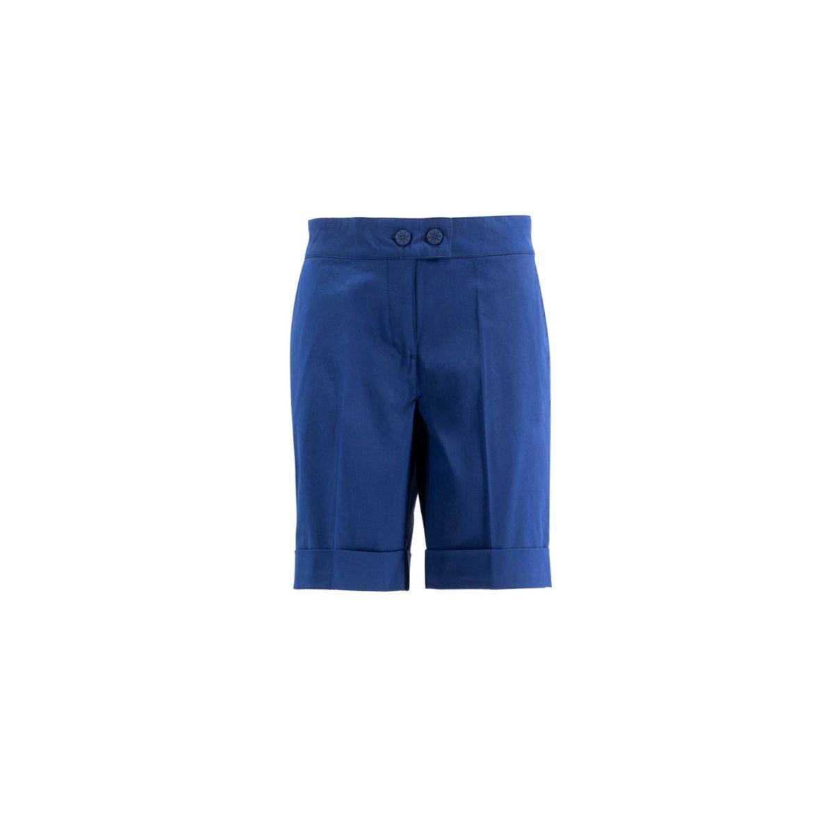 Shorts Bermuda Blu - vista frontale   Nicla
