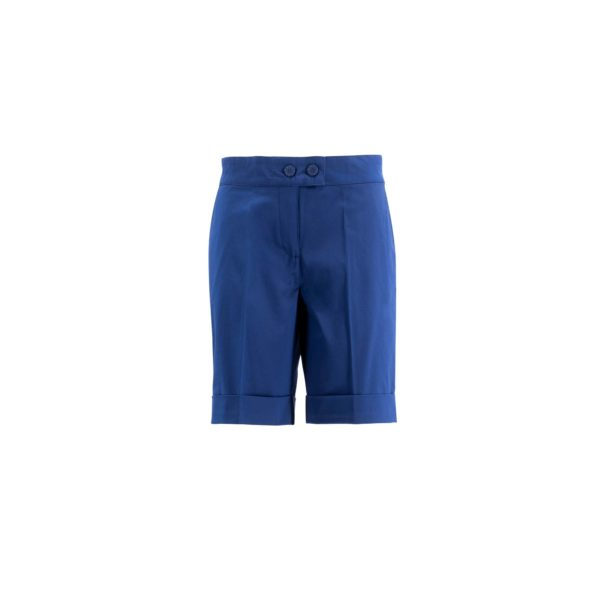 Shorts Bermuda Blu - vista frontale | Nicla