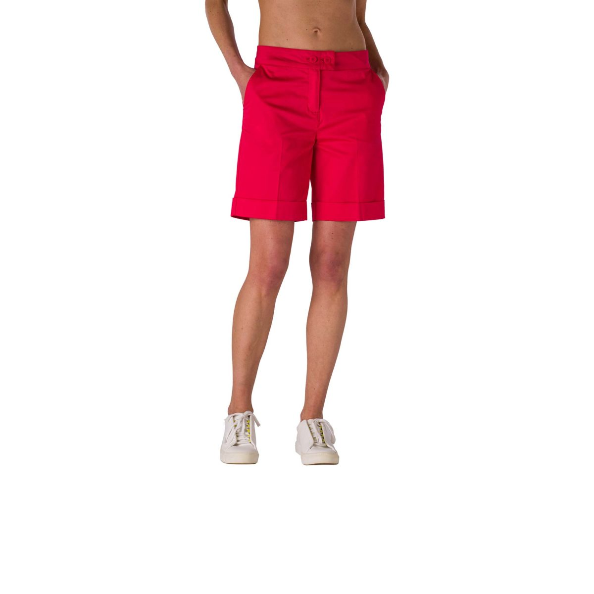 Shorts Bermuda Rosso Corallo - Nicla
