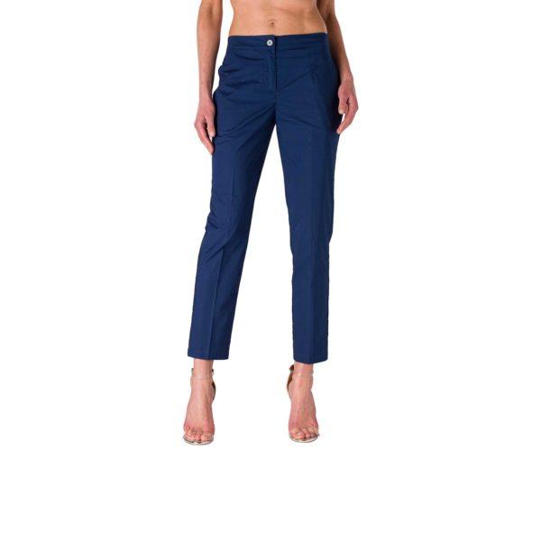 Pantalone Straight Blu - vista laterale | Nicla
