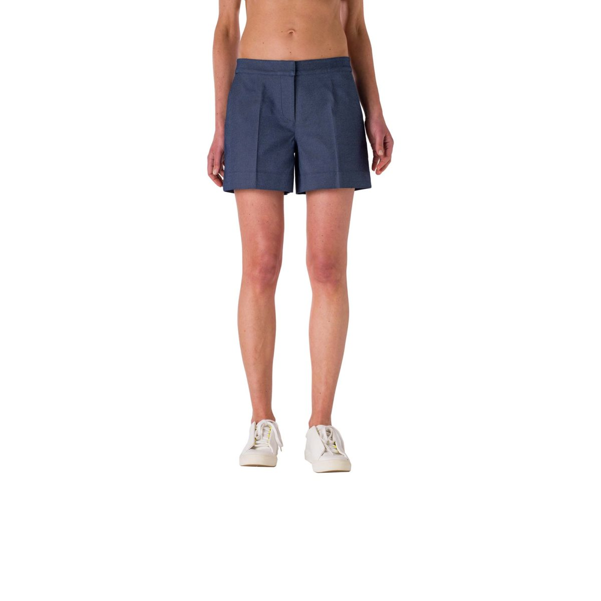 Shorts Straight Blu - Nicla
