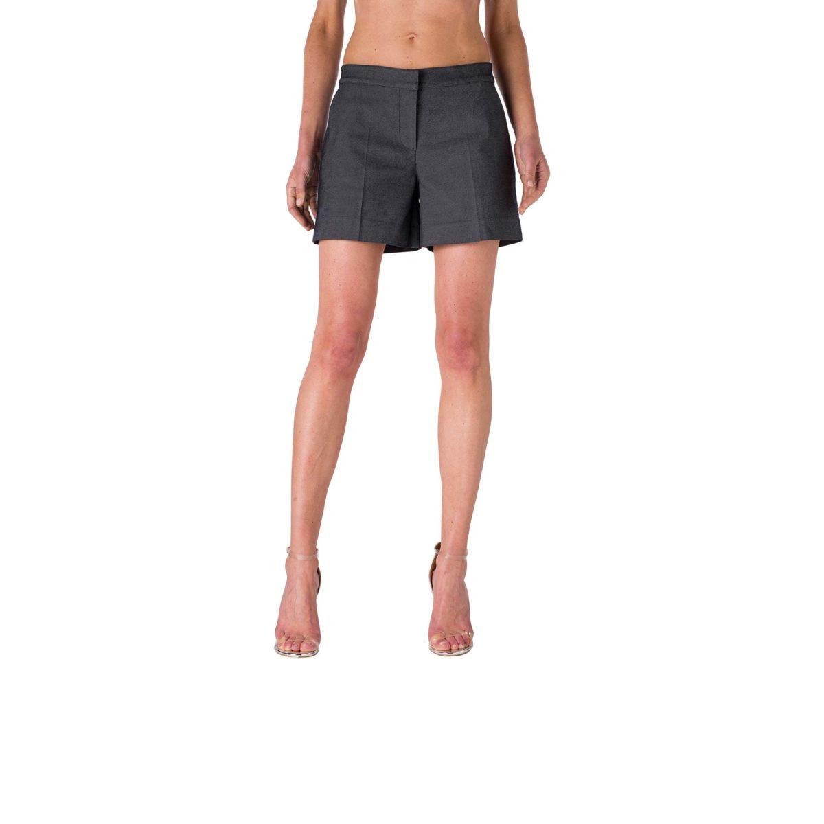 Shorts Straight Nero - Nicla