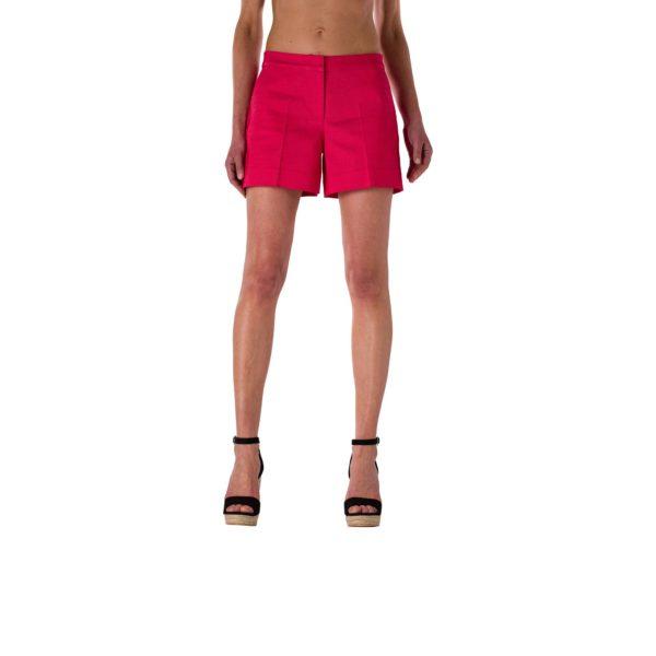 Shorts Straight Rosso Corallo - Nicla