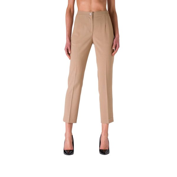 Pantalone Straight Sabbia - Nicla