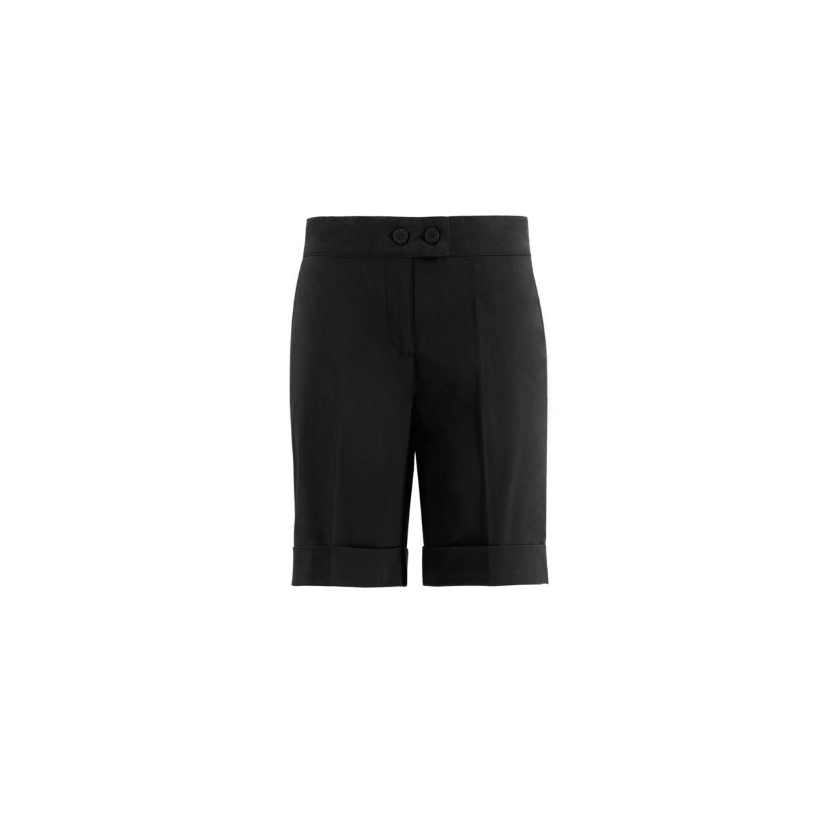 Shorts Bermuda Nero - vista frontale | Nicla