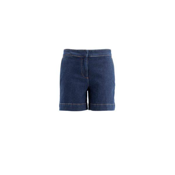 Shorts Denim Denim Blu - vista frontale | Nicla