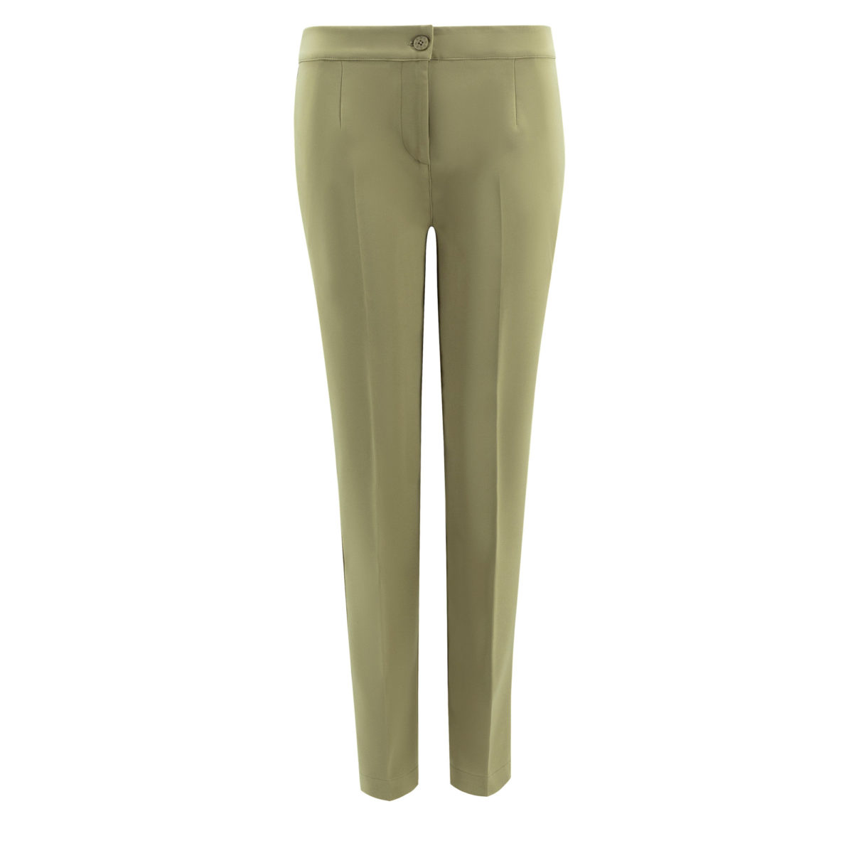 Pantalone Straight Verde - vista frontale | Nicla