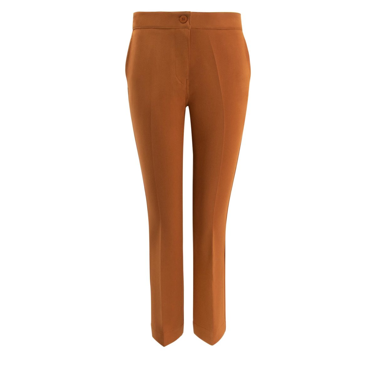 Pantalone Flare Marrone - vista frontale | Nicla