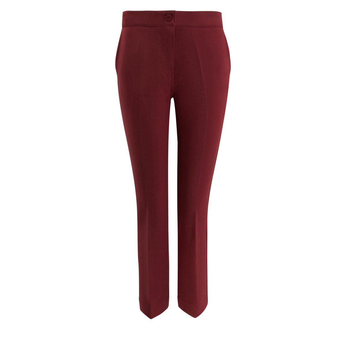Pantalone Flare Bordeaux - vista frontale | Nicla