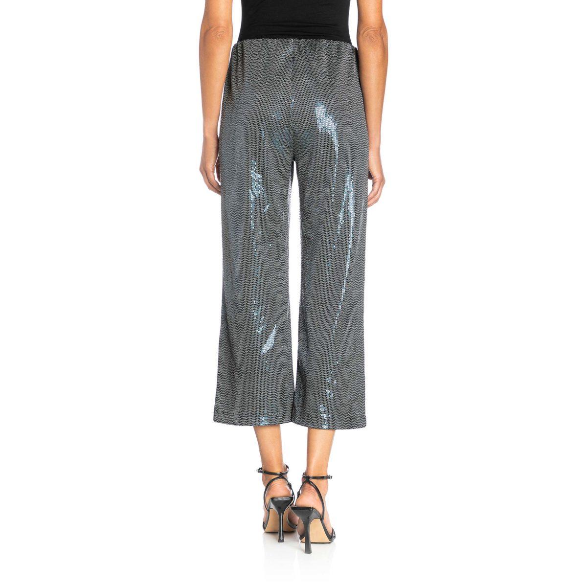 Pantalone Classic con paillettes