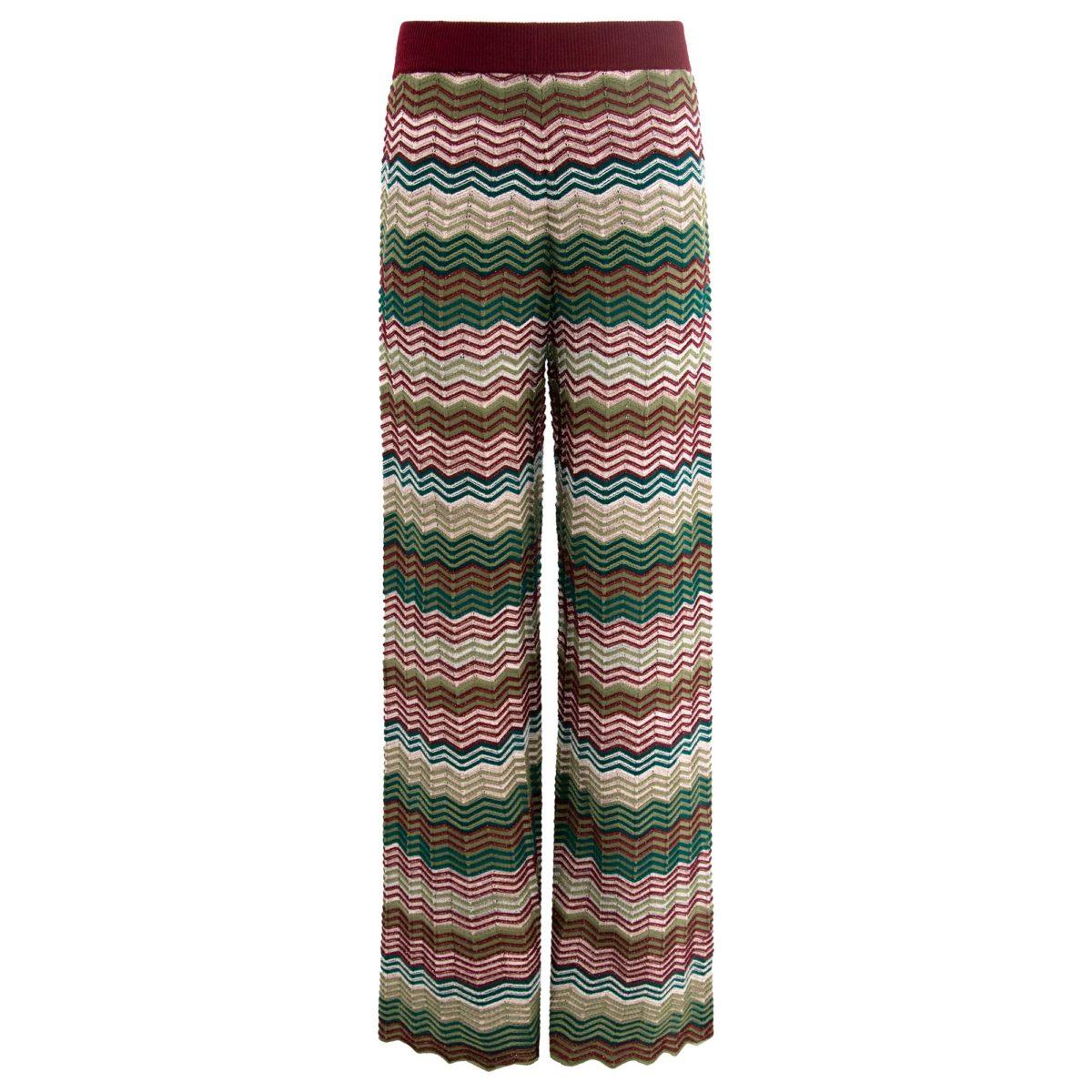 Pantalone Wide leg in maglia