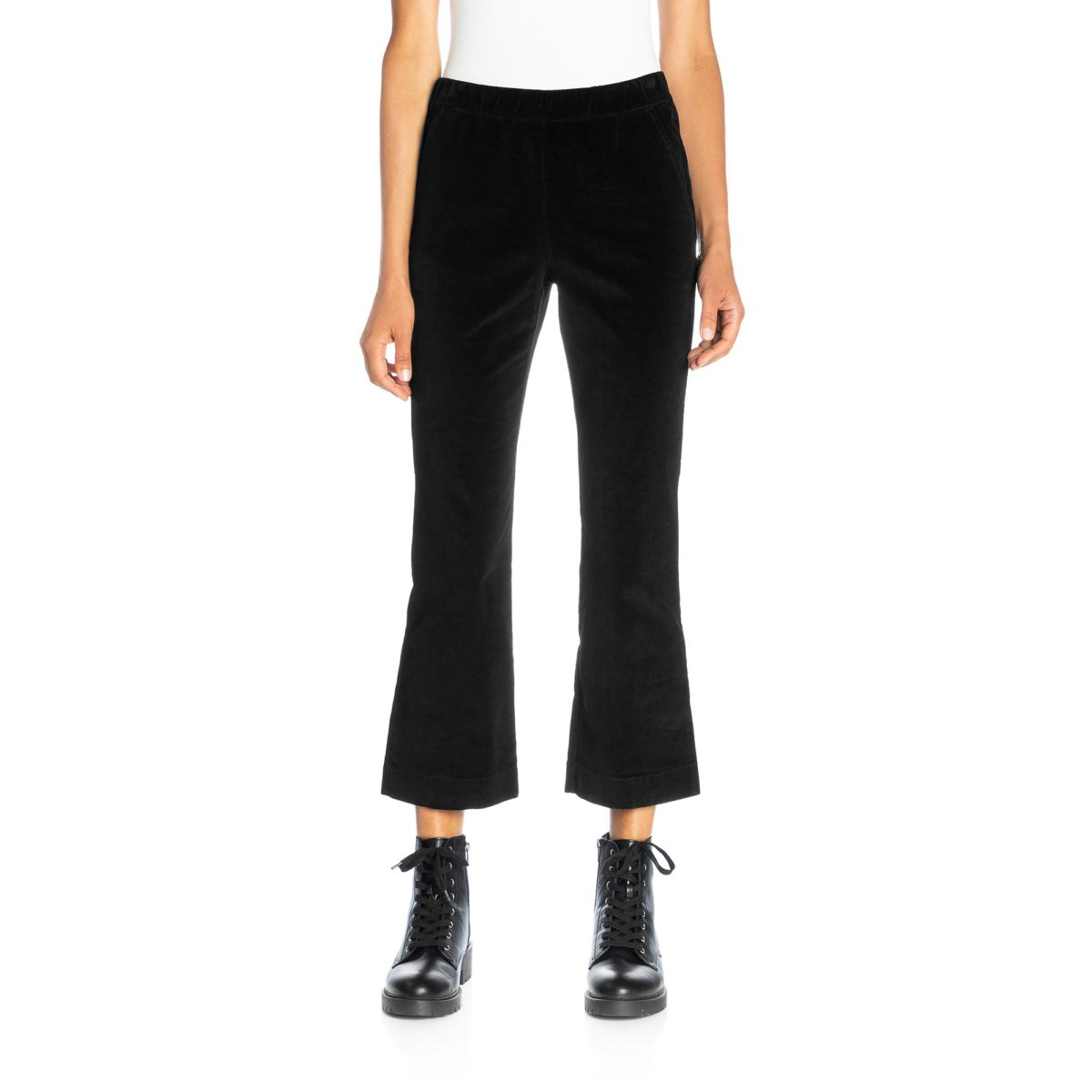 Pantalone Flare in velluto a costine