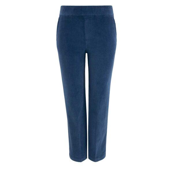 Pantalone Classic in velluto a costine Blu - Nicla