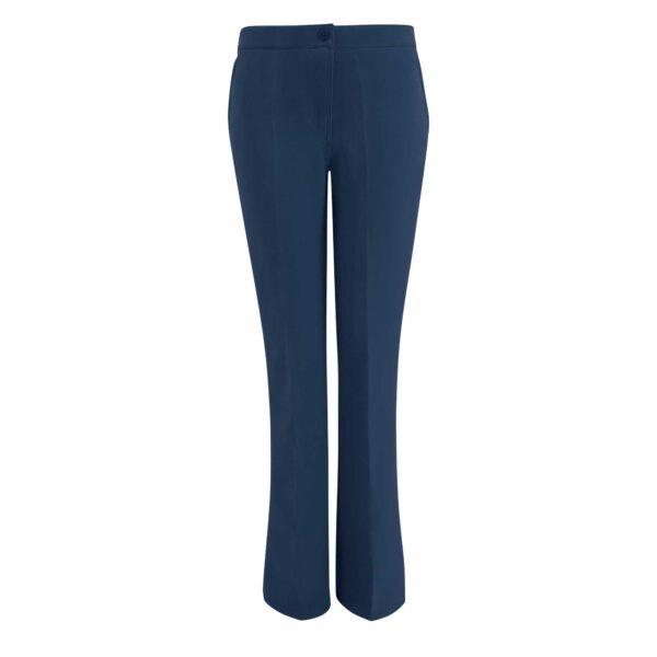 Pantalone Bootcut Blu - vista frontale | Nicla