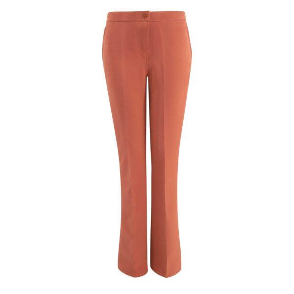 Pantalone Bootcut Rosa - vista frontale | Nicla