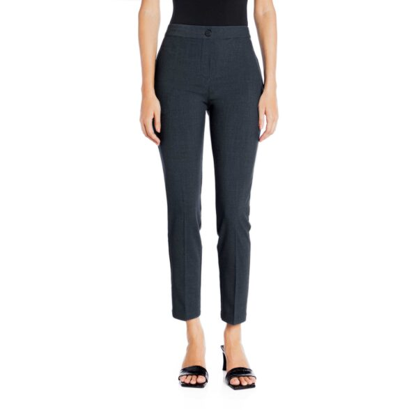Pantalone Straight melange Blu - Nicla