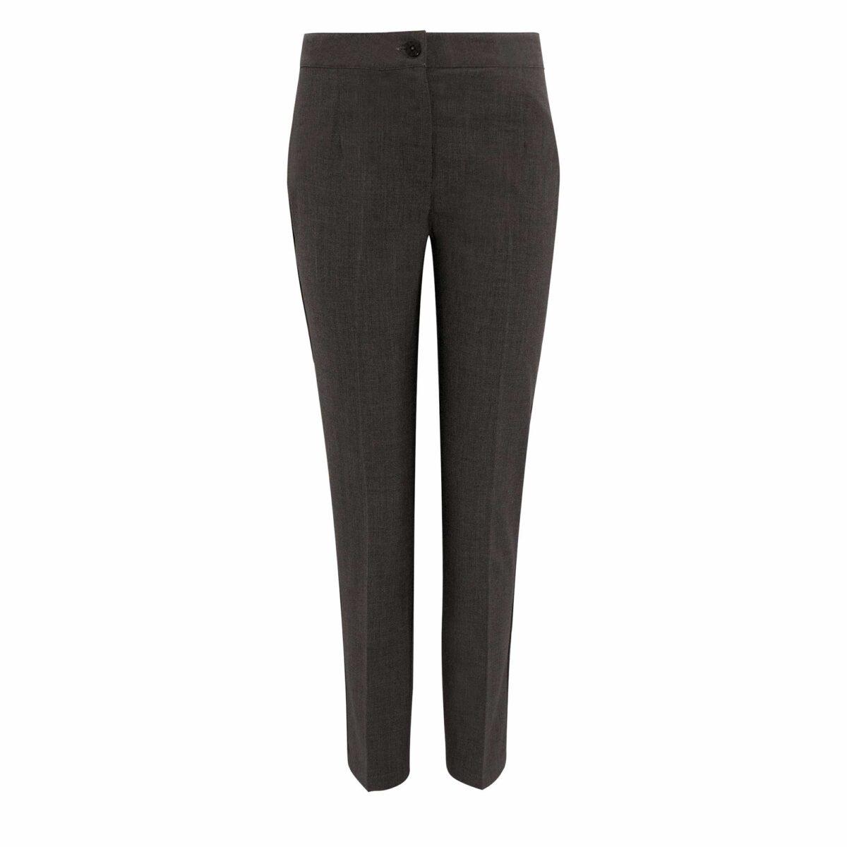 Pantalone Straight melange Grigio - vista frontale | Nicla