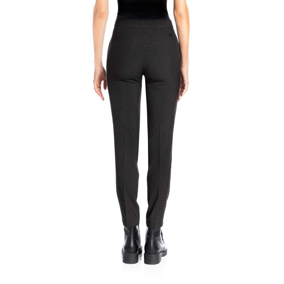 Pantalone Straight melange Grigio - Nicla
