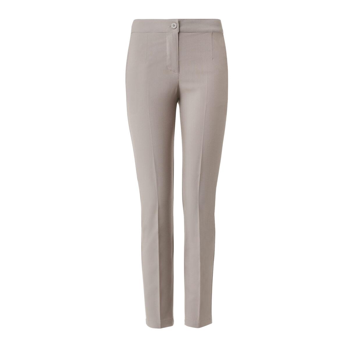 Pantalone Straight Grigio - vista frontale | Nicla