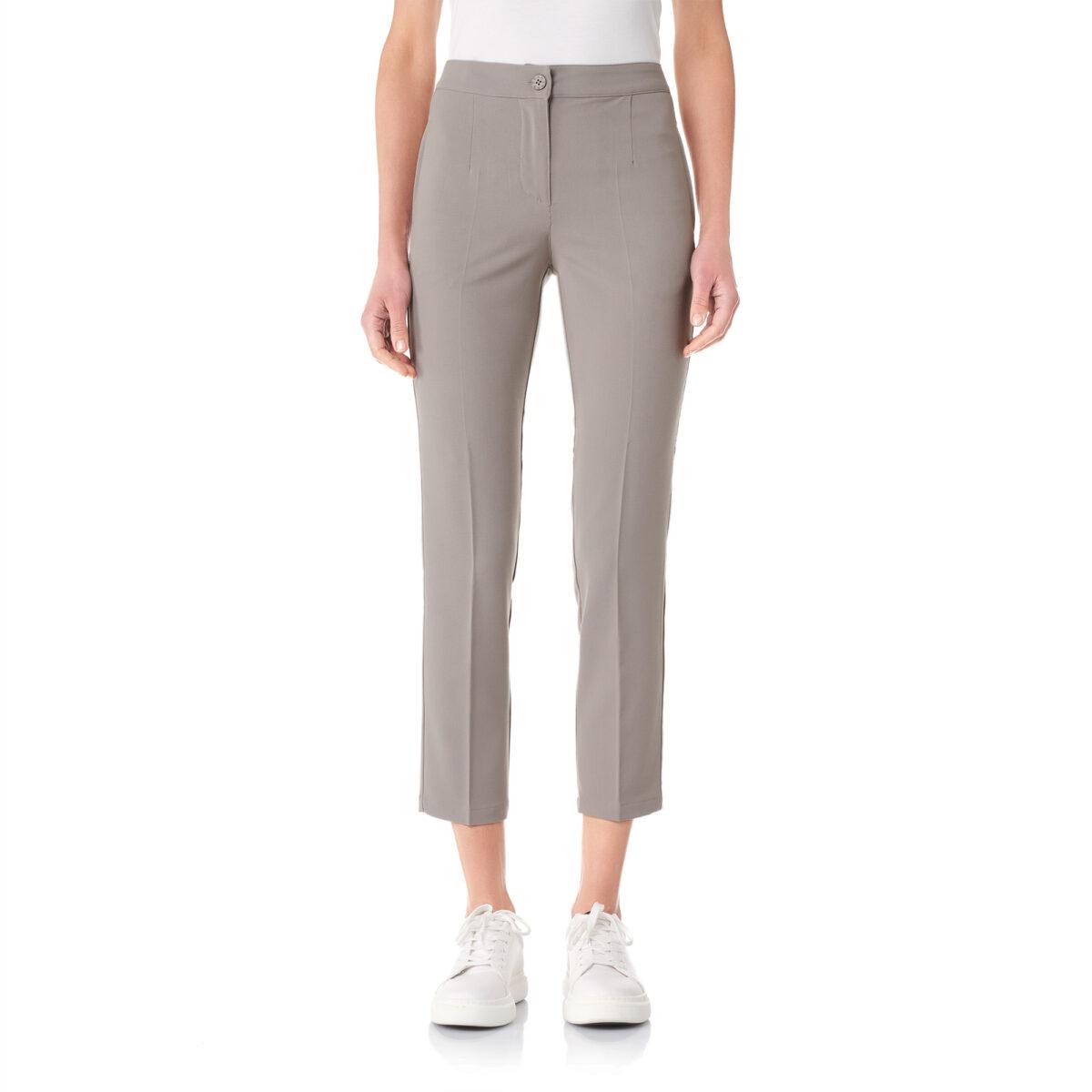 Pantalone Straight Grigio - Nicla