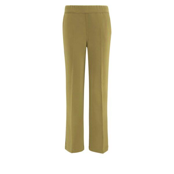 Pantalone Flare Verde - vista frontale | Nicla