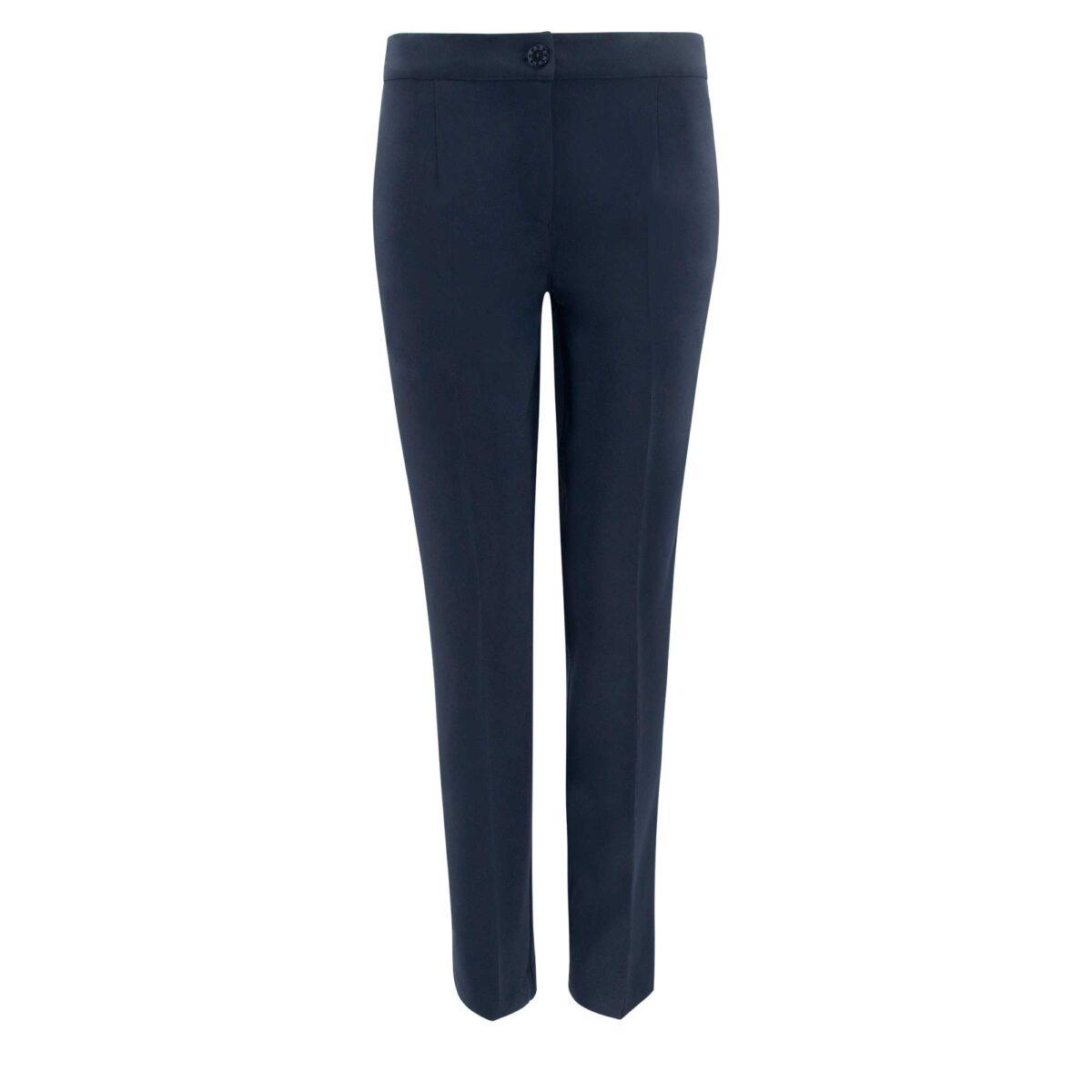 Pantalone Straight Blu - vista frontale | Nicla